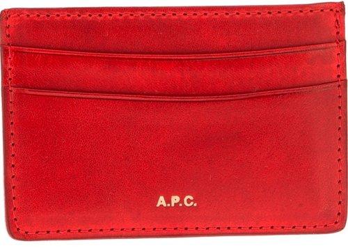 A.P.C. 'Minimalist' card holder
