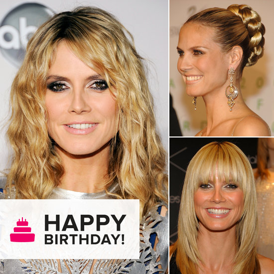 Happy 40th Birthday, Heidi Klum! See Her Top 10 Beauty Moments