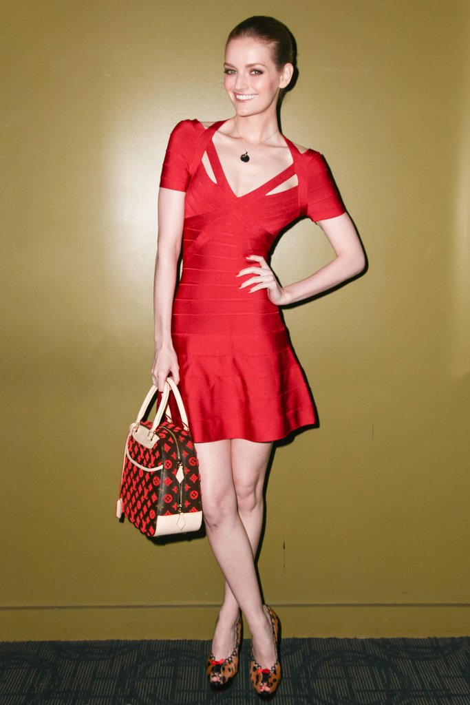 Lydia Hearst at a screening of Shadow Dancer in New York. Source: Matteo Prandoni/BFAnyc.com