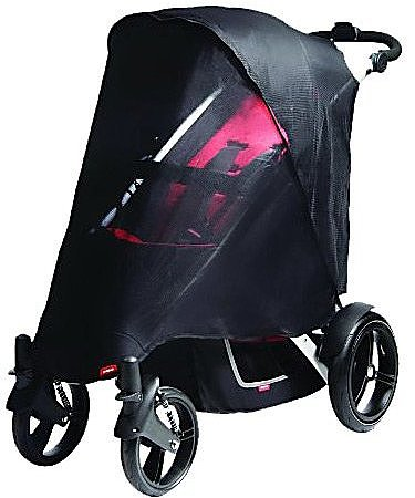 phil&teds phil&teds UV Mesh Cover for Verve Double Stroller