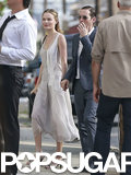 Kate Bosworth attended Lake Bell and Scott Campbell's New Orleans nuptials with Michael Polish in June 2013.