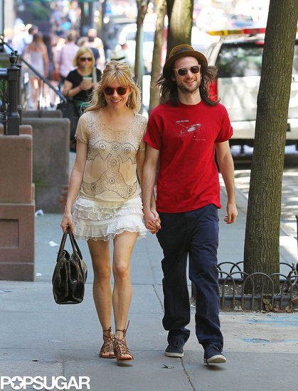 Sienna and Tom Brave the Big Apple Heat Wave