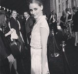 Olivia Palermo looked like she came straight out of The Great Gatsby.  Source: Instagram user bfa_nyc