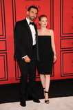 Jessica Chastain posed with Givenchy designer Riccardo Tisci.
