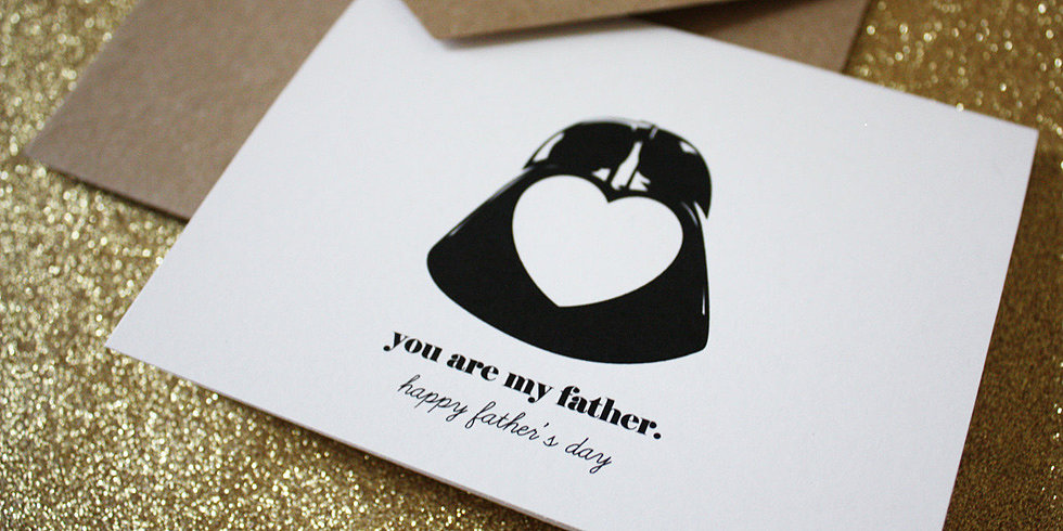 Sweet Star Wars Cards For Geek Dads