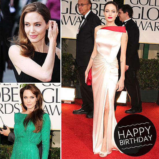 Thigh-High Slits, Striking Silhouettes & More — A Look at Angelina Jolie's Red-Carpet Transformation