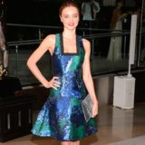Miranda Kerr Dress at CFDA Awards 2013