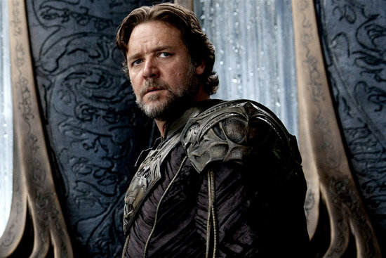 Russell Crowe in Man of Steel.