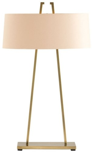 Dalton Satin Brass Lamp