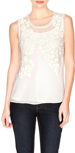 Lace Applique Layering Top