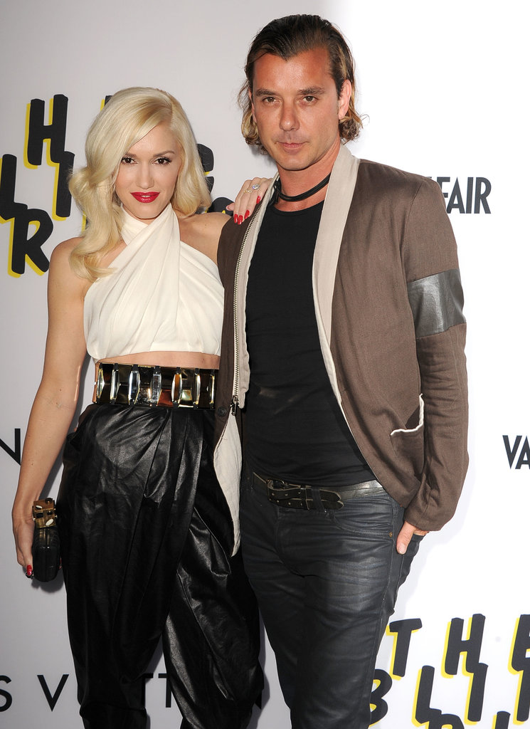 Gwen Stefani and Gavin Rossdale walked the red carpet at the LA premiere of The Bling Ring.