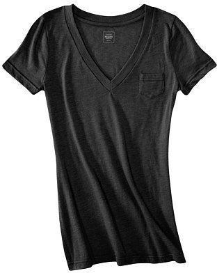 Mossimo Supply Co. Juniors V Neck Tee - Assorted Colors