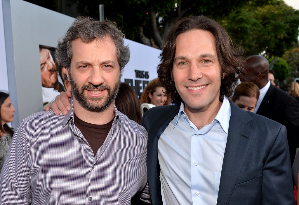 Judd Apatow and Paul Rudd