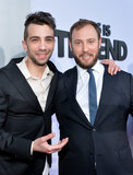 Jay Baruchel and Evan Goldberg