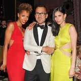 Carly Cushnie, Steven Kolb, and Michelle Ochs at Cushnie et Ochs and Gramercy Park Hotel's afterparty in New York. Photo: Neil RasmusBFAnyc.com