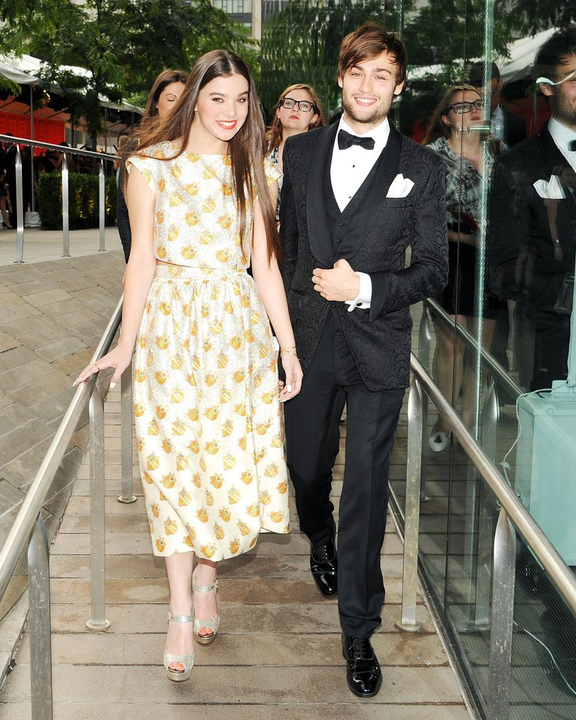 Hailee Steinfeld attended the bash with Douglas Booth. Source: Billy Farrell/BFANYC.com