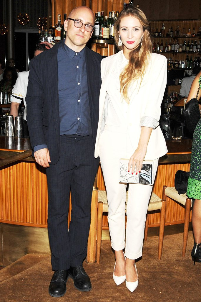 Steven Alan and Harley Viera-Newton at the Swarovski afterparty in New York. Photo: Billy FarrellBFAnyc.com