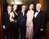Vince Camuto, Louise Camuto, Tommy Hilfiger, Dee Hilfiger, and Dennis Basso at Vera Wang's Lifetime Achievement Award Celebration in New York. Photo: Benjamin LozovskyBFAnyc.com