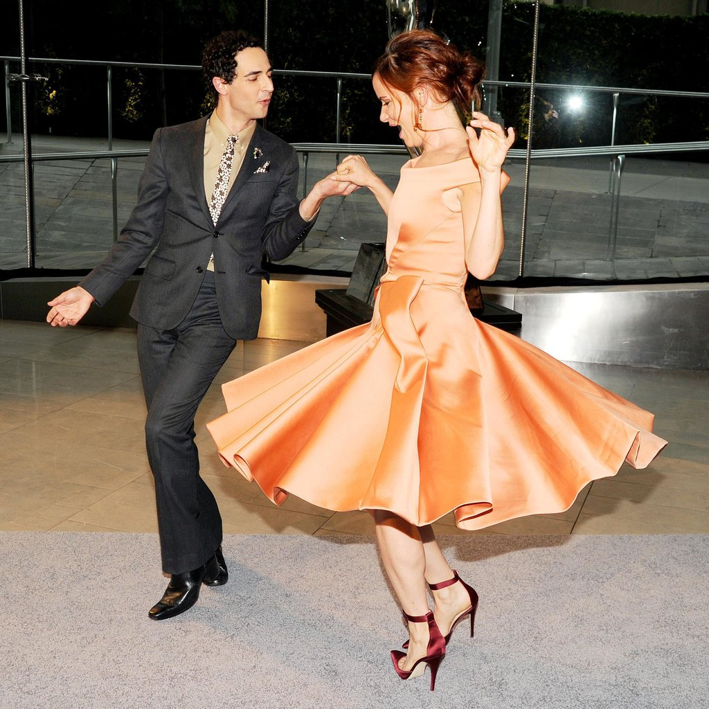 Zac Posen and Juliette Lewis. Source: Billy Farrell/BFAnyc.com