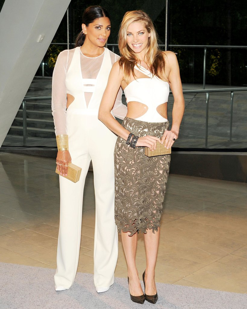 Rachel Roy and Jessica Hart. Source: Billy Farrell/BFAnyc.com