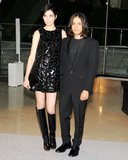 Janice Alida with Olivier Theyskens. Source: Billy Farrell/BFAnyc.com