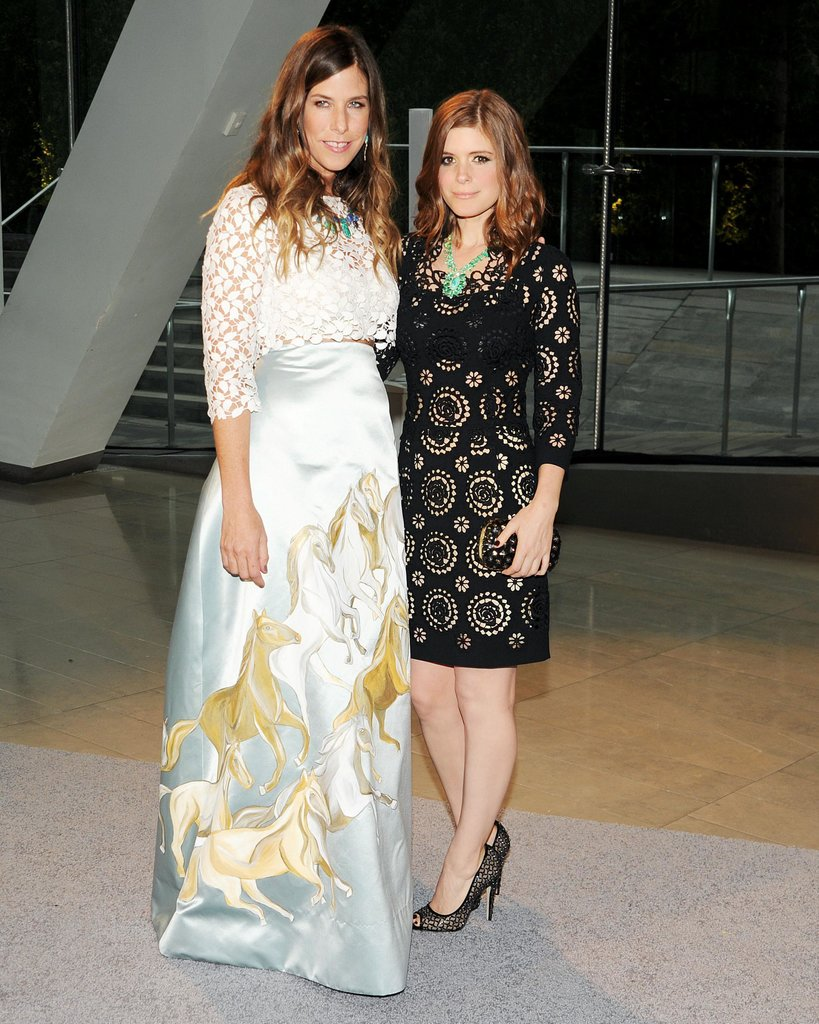 Irene Neuwirth with Kate Mara. Source: Billy Farrell/BFAnyc.com