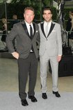 Zachary Quinto with Todd Snyder at the 2013 CFDA Awards. Source: Neil Rasmus/BFAnyc.com