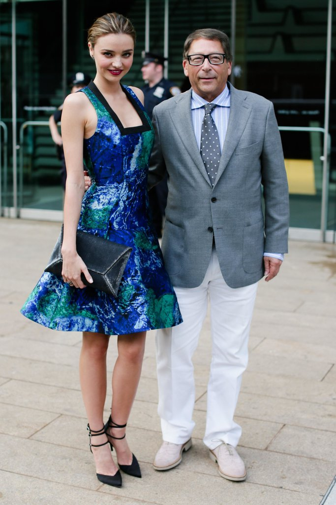 Miranda Kerr, in Proenza Schouler and Stuart Weitzman, with Stuart Weitzman. Source: David X Prutting/BFAnyc.com
