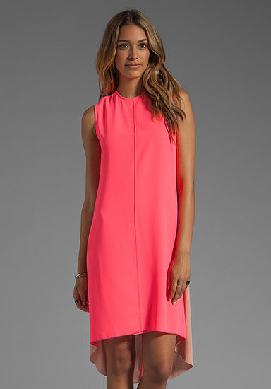 Show up in this Camilla and Marc fluoro pink dress ($460) — it'll definitely shock and awe guests in the best way possible.
