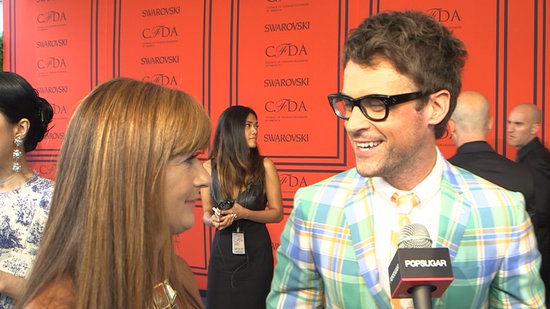 Brad Goreski Has a '90s Supermodel Moment at the CFDA Awards
