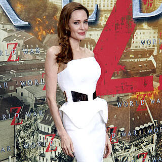 Angelina Jolie World War Z Premiere Dress