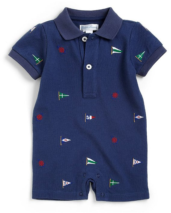 Infant's Nautical Shortall