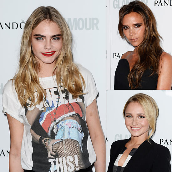 Glamour Brings Together the Best Beauties in Britain