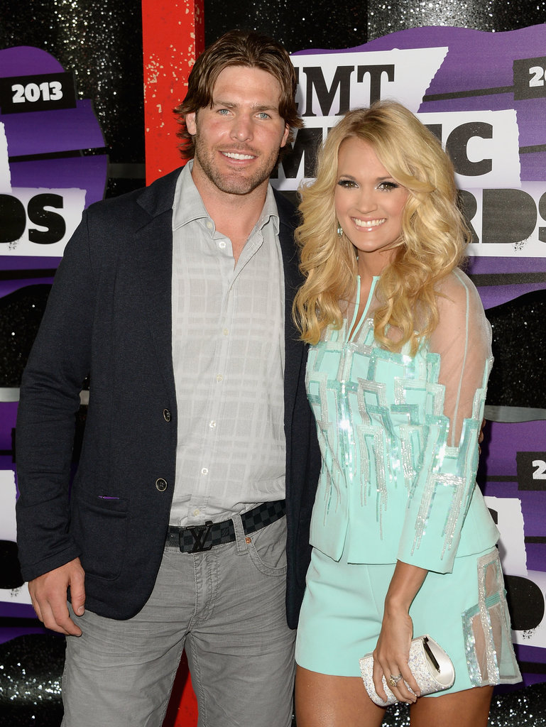 Carrie Underwood Cuddles Up to Her Husband at the CMT Awards