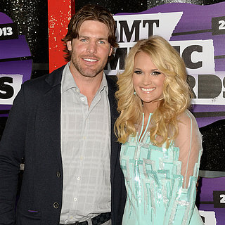 Carrie Underwood and Mike Fisher at the CMT Awards 2013