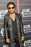 Lenny Kravitz at the CMT Awards.