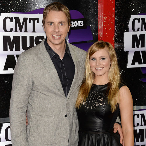 Kristen Bell and Dax Shepard at the 2013 CMT Awards