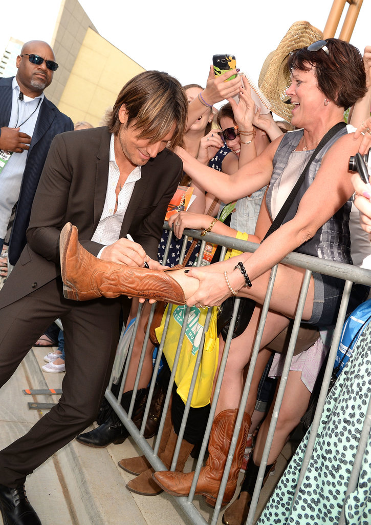 Keith Urban at the 2013 CMT Awards.