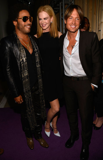 Keith and Nicole Get Friendly With Lenny Kravitz at the CMT Awards