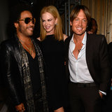 Nicole Kidman, Keith Urban and Lenny Kravitz at CMT Awards