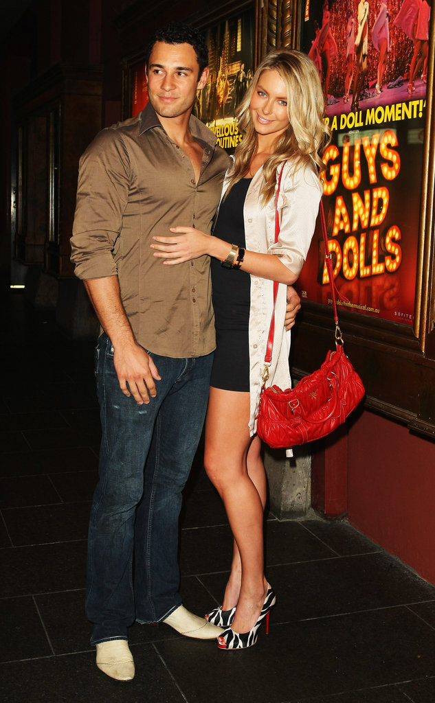 Jake and Jennifer were guests at the Guys and Dolls opening night in Sydney in March 2009.
