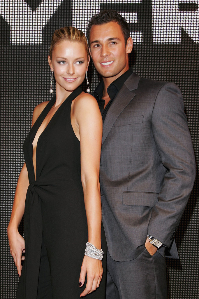 The couple looked sharp at Myer's Winter fashion launch in Melbourne in March 2007.