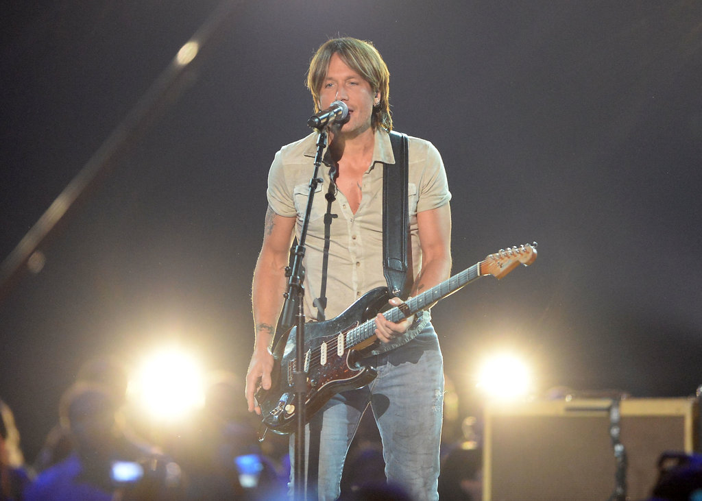 Keith Urban at the CMT Awards.