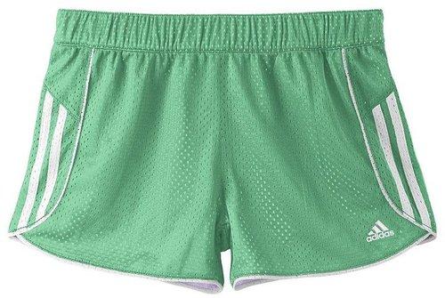 Adidas mesh shorts - girls 7-16