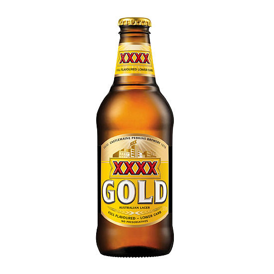 XXXX Gold Per 375ml Bottle. . .