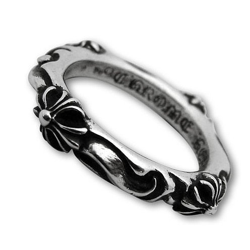 Chrome Hearts SBT Band 925 Silver Rings