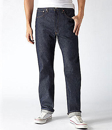 Levi Strauss Big & Tall 501® Shrink-To-Fit Jeans