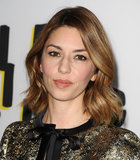 The Bling Ring director Sofia Coppola wore her lob hair in loose waves with a natural makeup palette.