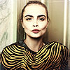 Cara Delevingne Naked on Marc Jacobs Shirt