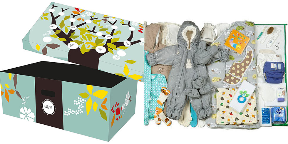 Finnish Newborns Sleep in a Cardboard Box For a Good Reason